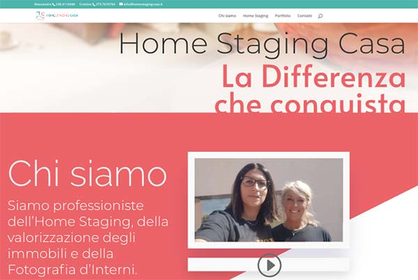 Sito web Home Staging Casa