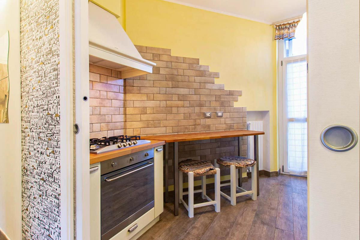 Home Staging Torino cucina
