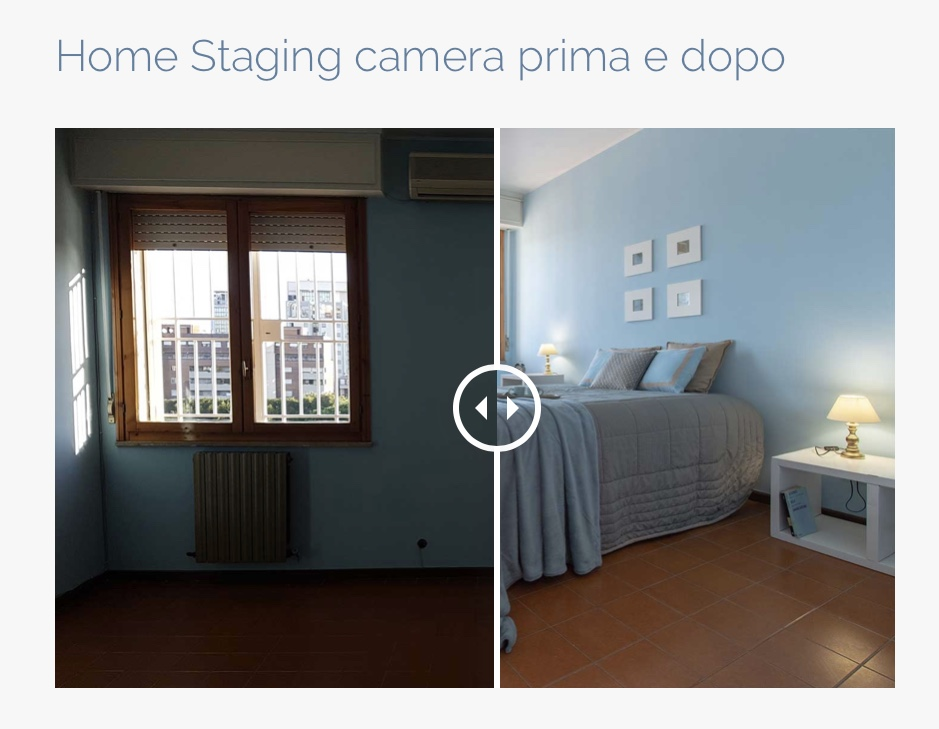 home staging prima dopo